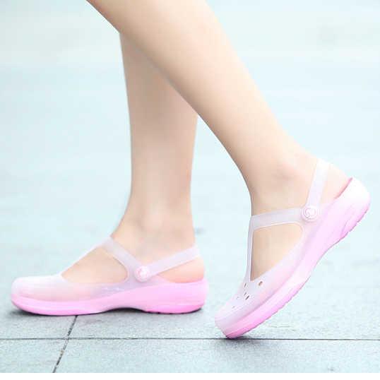 fe3d3db827e265 ... Wome Slip on Sandals Garden Clogs Waterproof Shoes Women Classic Nursing  EVA slippers Hospital Women Work ...