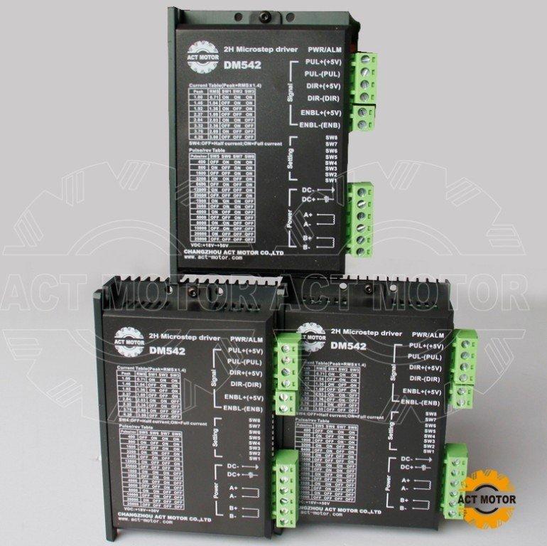 цена на 3 axis nema17 or nema23 stepper motor driver 128micsteps,4.2A 18-50VDC CE