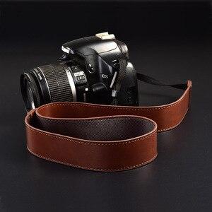 Ceinture d'épaule en cuir pour appareil photo, pour Sony Alpha a7 III a77 s a6500 a6000 a5100 a6300 a5000 a99 NEX-5T C R