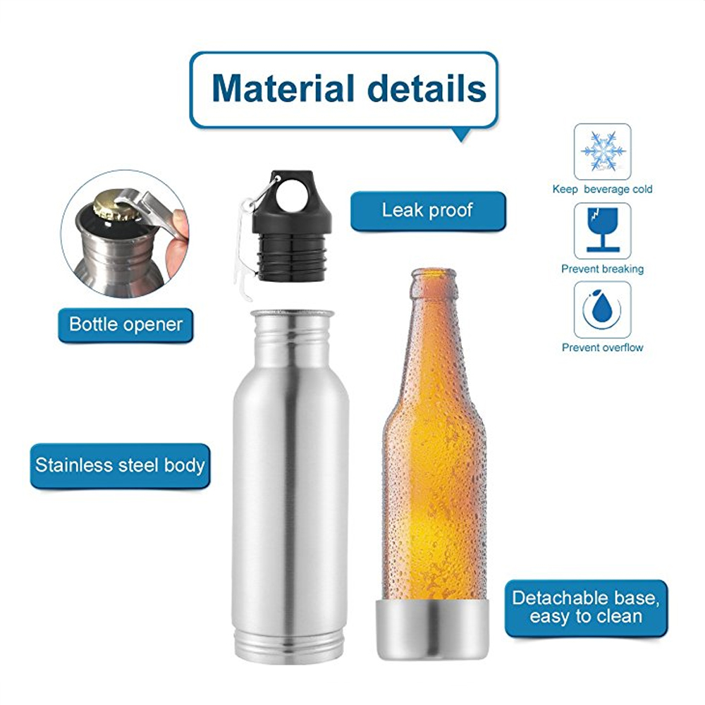Mealivos-Beer-Bottle-Cooler-12-oz-Stainless-Steel-Beer-Bottle-Insulator-Holder-with-Bottle-Opener-to