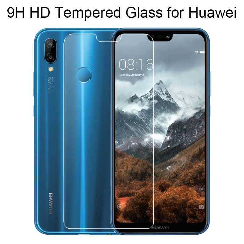 Tempered Glass for Huawei P Smart 2019 Screen Protector Film for P6 P7 P8 P9 P10 Protective Phone Glass for Huawei P Smart Plus