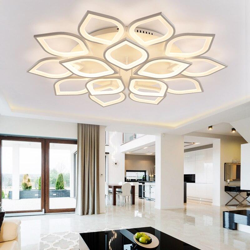 Eusolis 110-220 v Aluminium Led Verlichting Voor Thuis Armatuur Luminaria Teto Moderne Verlichting Lustres Woonkamer Lamp Lantaarn Licht 23