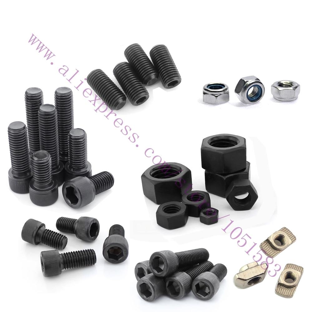 Wilson TS 3D Printer Nuts & Bolts Screw Full Kit, machine screw  hex nut  lock nut  smooth rod or grub screw  Free Shipping