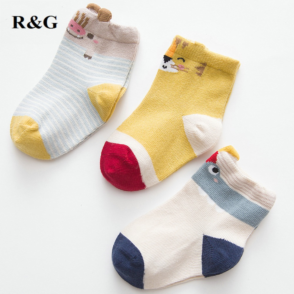 Baby Socks High Quality Baby Socks 3 Pairs