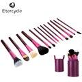 13 Pçs/set Pro Kit de Maquiagem Pincéis de Maquiagem Cosméticos compõem conjunto De Ferramentas