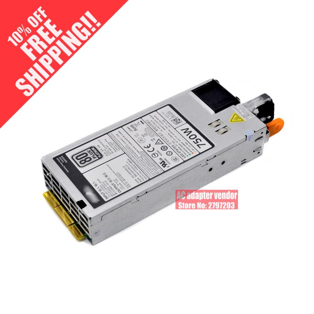 POUR DELL serveur R720 XD R620 T620 alimentation 750 W 5NF18 6W2PW 9 PXCV