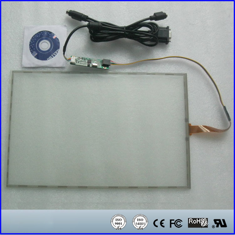 12.1 Inch 263mmx200mm 5Wire Resistive Touch Screen Panel USB Kit for 12.1 monitor 15 inch resistive touch screen panel 322mmx247mm 5wire usb kit for 15 monitor