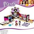 2016 Nueva BELA 10404 Amigo Vestidor Niña Regalos de Navidad Diy Ladrillos Bloques Huecos Fija juguetes Compatible Legoe Amigos