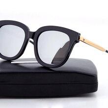 Корейский Bigbang Absente очки винтажные мужские женские брендовые нежные солнцезащитные очки maya женские с V логотипом и оригинальной коробкой Oculos De Sol