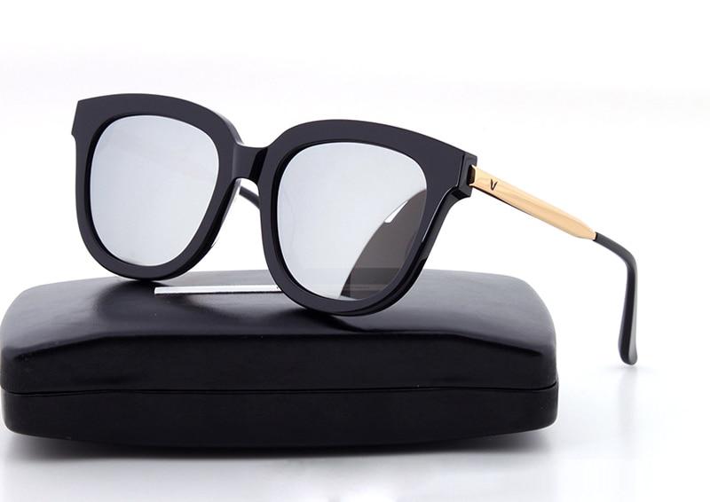 Korea Bigbang Absente Glasses Vintage Men Women Brand Gentle maya Sunglasses Women With V Logo And