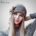 Moda 2015 Outono E Inverno Feminino Chapéus Venda Quente Tricô Chapéu Boné de Bola Tampão Ocasional Ao Ar Livre Para As Mulheres AA140005