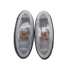 LARBLL 2 стиля пара боковой маркер повторитель крыла лампа светильник для MAZDA 323 626 MPV PREMACY MX-6 дань