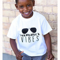 summer T-shirt printed cotton fashion letter summer short sleeve baby boy clothes vetement enfant garcon