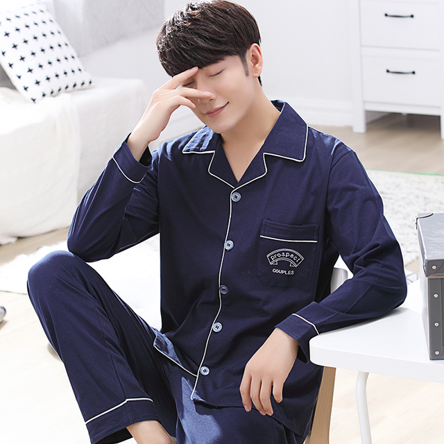 2016 winter modal sleepwear suit for men classic stripe lounge wear long sleeve lovers pajamas sets