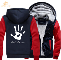 Skyrim Dark Brotherhood We Know Hand Print Hip Hop Hooded Men 2017 Winter Warm Fleece Fashion Sweatshirt Mens Casual Tracksuit