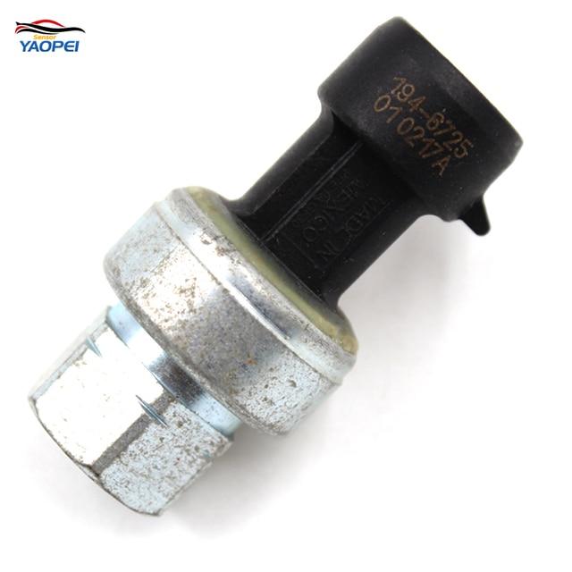 US $25 28 |YAOPEI For CAT Caterpillar Air Conditioning Pressure Sensor  Engine C7 C13 C15 C16 194 6725 2CP3 68 1946725-in Pressure Sensor from