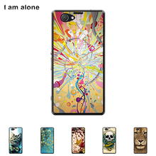 For Sony Xperia Z1 Compact Z1 Mini 4.3 Cellphone Hard Plastic Color Paint Mobile Protective Cover Free Shipping free shipping 10pcs mst6e181vs lf z1