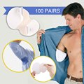100pairs 200pcs Armpits Sweat Pads for Underarm Gasket from Absorbing Pads for Summer Men Women Deodorants Disposable Anti Stick