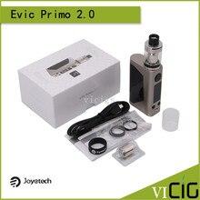 100% original joyetech evic unimax primo 2.0 kit con 5 ml 2 tanque y 1-228 w vape cuadro mod actualizado por primo evic kit