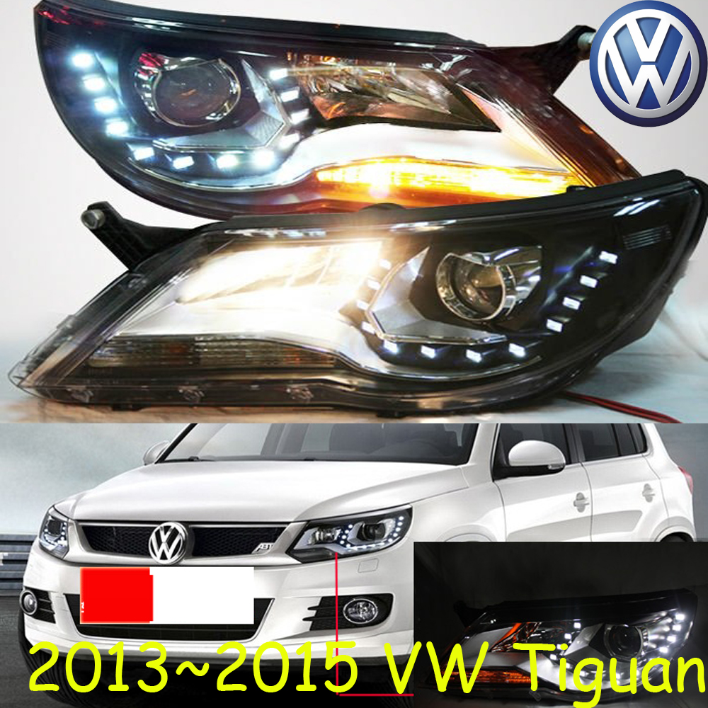 car-styling! Tiguan headlight,2009~2012,Free ship!chrome,Tiguan fog light,Touareg,sharan,routan,saveiro,polo,passat,magotan