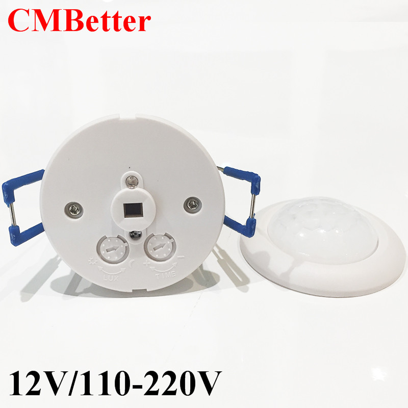 High Sensitivity PIR Motion Sensor light Switch AC220V /DC12V Infrared Detector LED lamp Bulb Automatic Smart Switch ON / OFF infrared breast detector high quality mammary gland diagnosis gynecology infrared mammary examination lamp