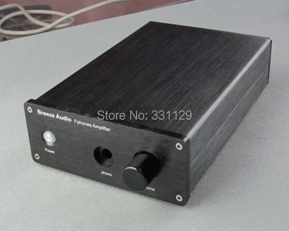 Breeze Audio-aluminum chassis Higher version  amplifier case1706E (match with WeilIiang E3/E4/E5 circuit)
