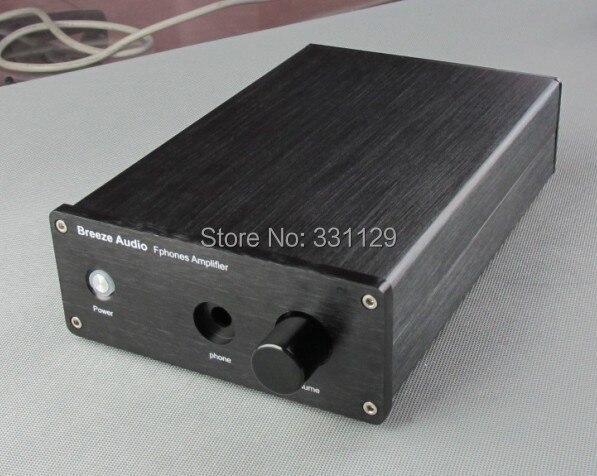 Breeze audio-aluminio chasis versión superior amplificador case1706E (Partido con weiliiang E3/E4/E5 circuito)