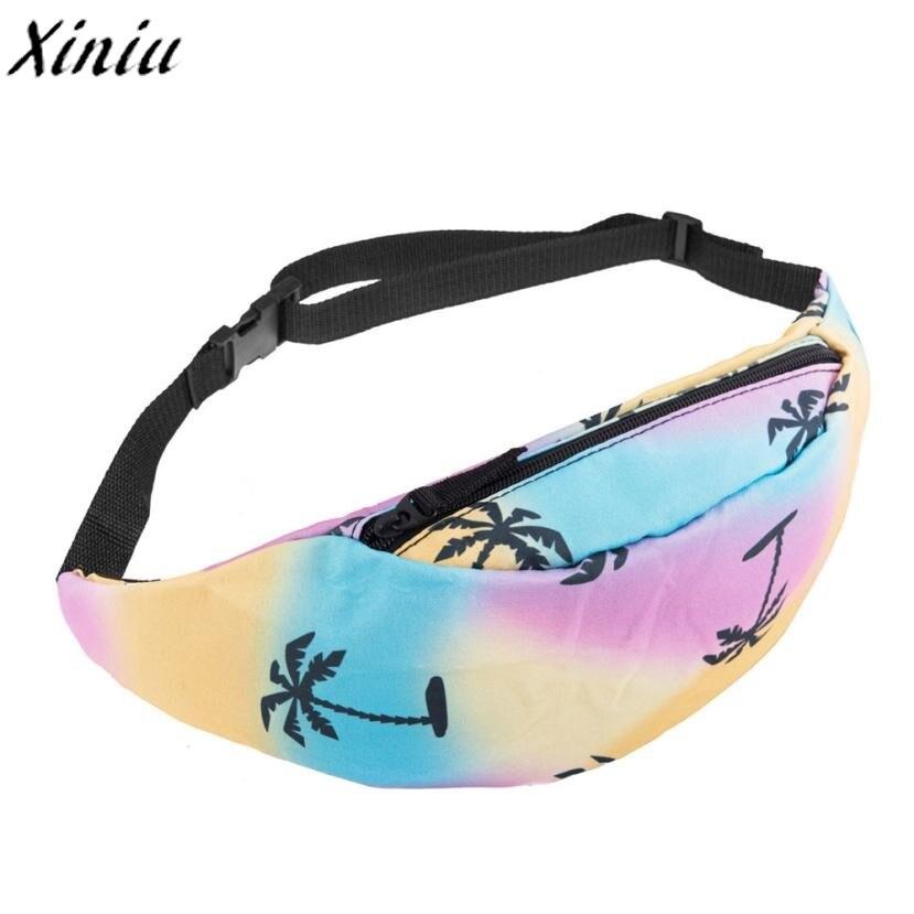 Fashion Belt Waist Bag Unisex Printing Pouch Zipper Pack Qualited Chest Pack Bolsas De Ombro #7831