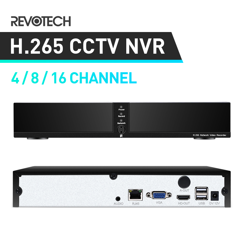 HD  4 / 8 Channel H.265 5MP Network Video Recorder HDMI 4 / 8 CH CCTV NVR for IP Camera Support P2P Cloud-in Surveillance Video Recorder from Security & Protection    1