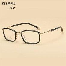 KESMALL New TR90 Square Shaped Prescription Eyewear Women Men Computer Glasses Frame With Myopia Lens Reading Eyeglasses XN328P