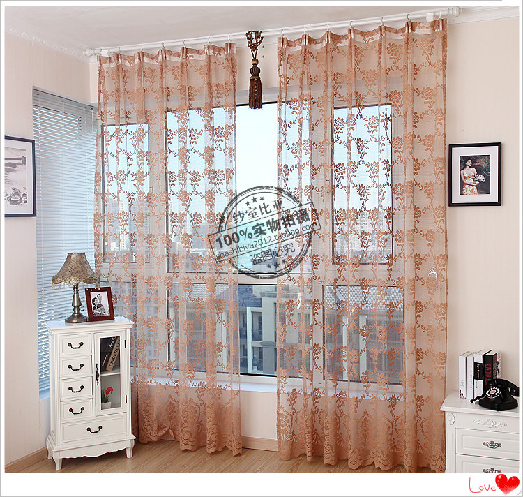 White Sheer Curtain Net Curtains Lace Curtain For Living Room Windows And  Balconies Free Shippingg Part 68