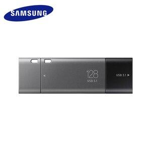 Image 2 - Samsung unidad Flash USB 3,1 para Chromebook y Macbook, 128 GB, DUO Plus, velocidad de hasta 300 MB/s, OTG, TypeC, USB C, 128 gb
