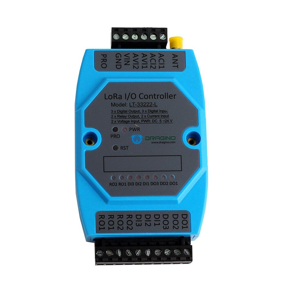 Pour Dragino LT-33222-L LoRaWAN LoRa i/o contrôleur sans fil pour l'agriculture intelligente domotique IOT EU868 US915 AU915 AS923 - 3