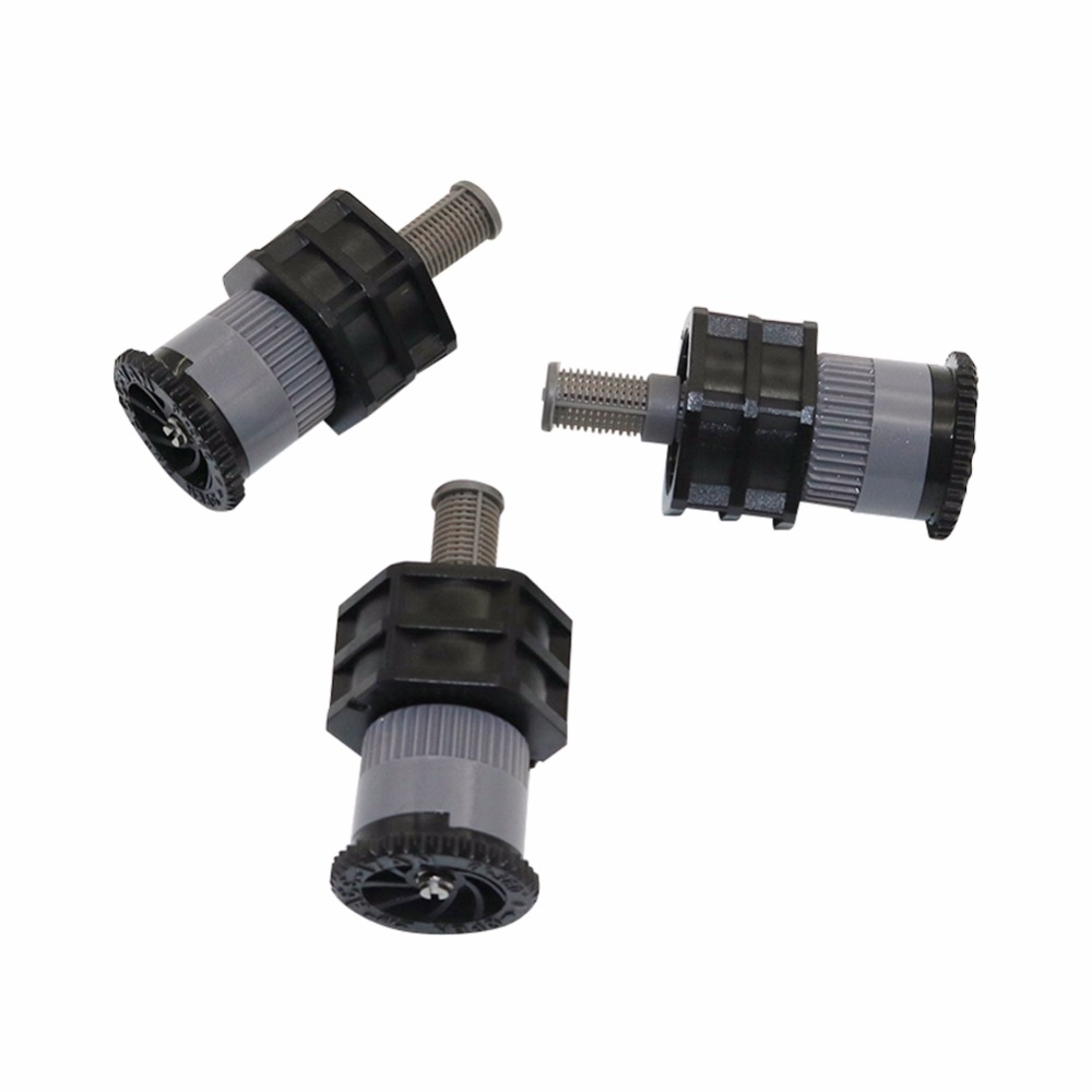 6pcs 1/2''micro Atomization Scattering Nozzle Spray Direction Adjustable Centrifugal Nozzles Garden Lawn Atomized Sprinklers
