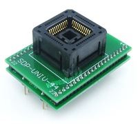 PLCC44 TO DIP44 Programmer Adapter Yamaichi IC Programmer Adapter for PLCC44 package with socket IC120 0444 306 1.27mm Pitch
