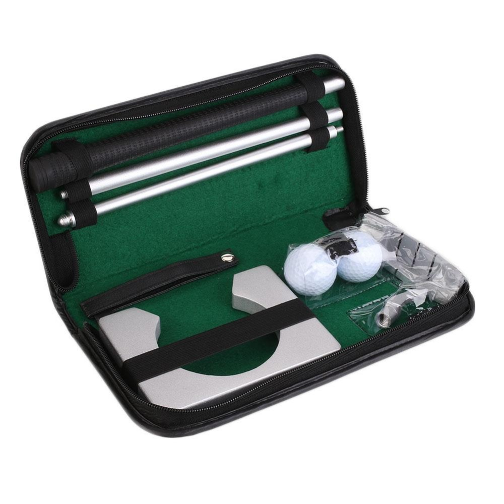 Titular de la pelota de golf de interior poniendo práctica Kit de entrenamiento