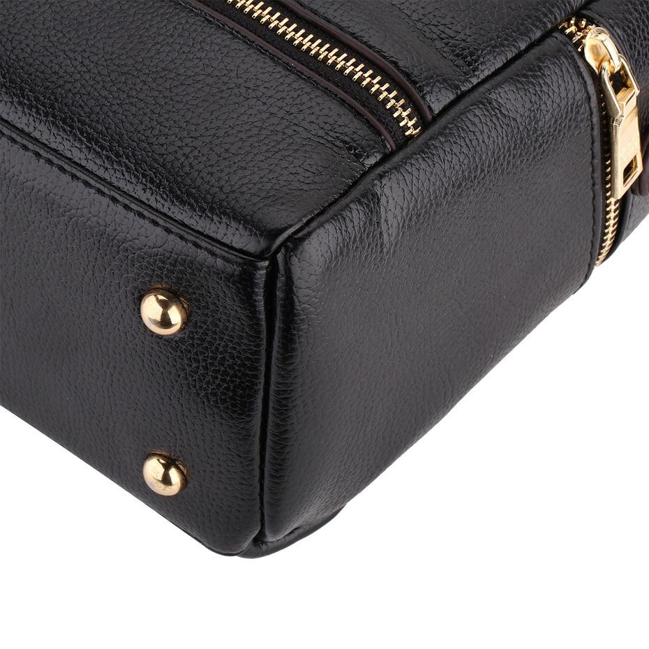 da forma genuína bolsas de Estilo1 : Women Genuine Leather Handbags Bolsa Femininas