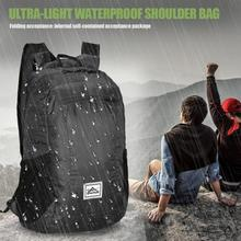 Outdoor Sport Foldable Shoulder Backpack Ultra Light Waterproof 20L Travel Climbing Camping Cycling Storage Bag Unisex