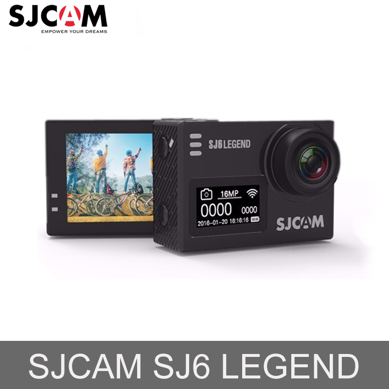 "100% Original SJCAM SJ6 LEGEND 2.0"" Touch Screen 4K Notavek 96660 Remote 30M Waterproof Diving Sports Action Camera Mini DVR"