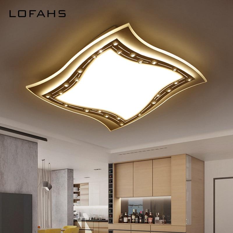 LOFAHS Moderne LED Diamant Decke Kronleuchter Esszimmer Schlafzimmer Wohnzimmer Lampe LsterChina