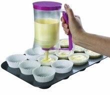 Cupcake Pfannkuchenteig Spender Muffin Helfer Mix Gebäck Krug