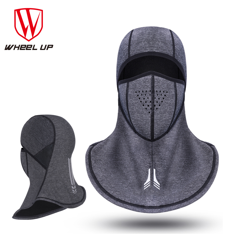 WHEEL UP Cycling Face Mask Ski Mask Cycling Cap Bicycle Winter Face Mask Thermal Fleece Balaclava Dustproof hood Hat Headwear
