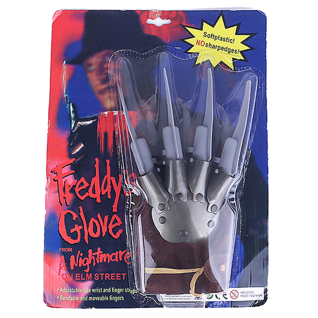 29cm  Funny Freddy Glove Halloween Fancy Dress Costume Props Party Favors Supplies Accessories Creative Gifts Parties Decoration