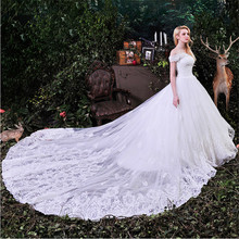 kejiadian Abiti Sposa Ball Gown Wedding Dresses Train