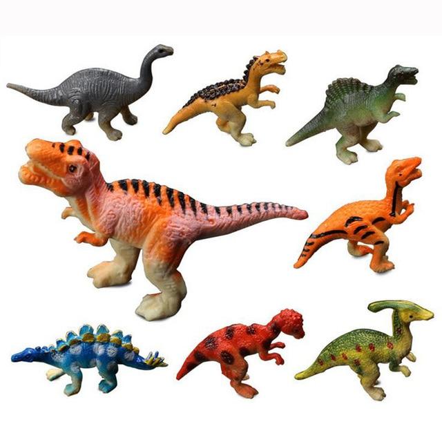 Simulation Dinosaur Animal model Figurine home decor miniature fairy garden decoration accessories craft ornament statue Figure