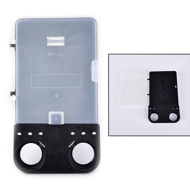 1Pc Plastic Golf Scorecard Holder Scoreboard Score Card Board Black +Transparent Cover for Put Score Card /Pencil /Balls /Tees
