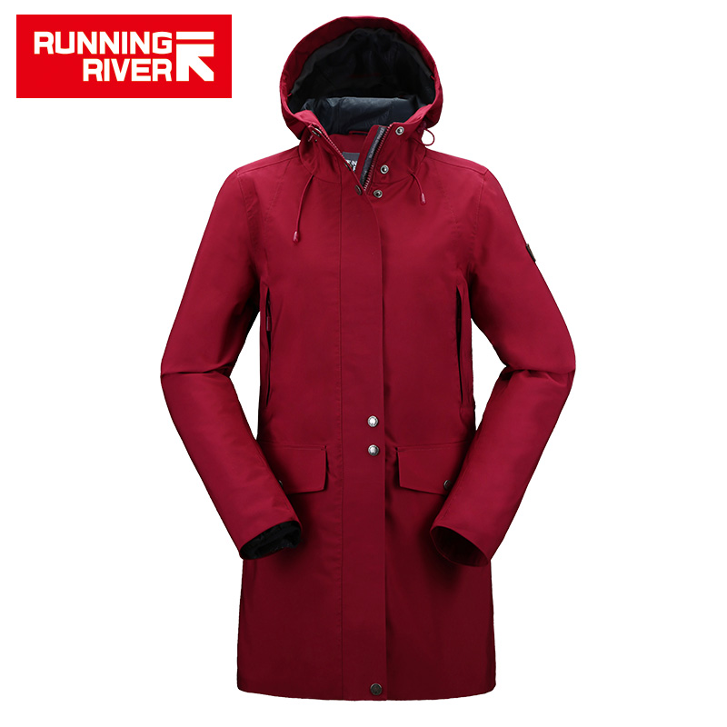 RUNNING RIVER Women Camping Hiking Jacket 4 Colors Size 36 - 46 High Quality Clothes Outdoor windbreaker Windproof coat  #K8362 running river brand winter thermal women ski down jacket 5 colors 5 sizes high quality warm woman outdoor sports jackets a6012