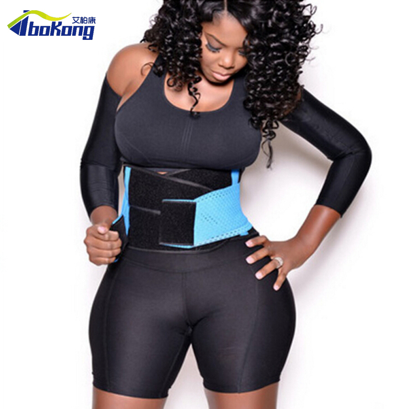 Women Mesh Waist Training Xtreme Power Belt Sport GYM Fitness Corset Body Shaper Free Shipping ...