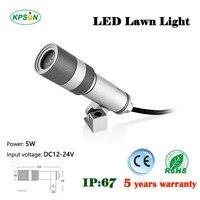 4PCS DC12v 24v Aluminum Waterproof LED Spotlight Downlight 5W IP67 5 Years Warranty CE And ROHS