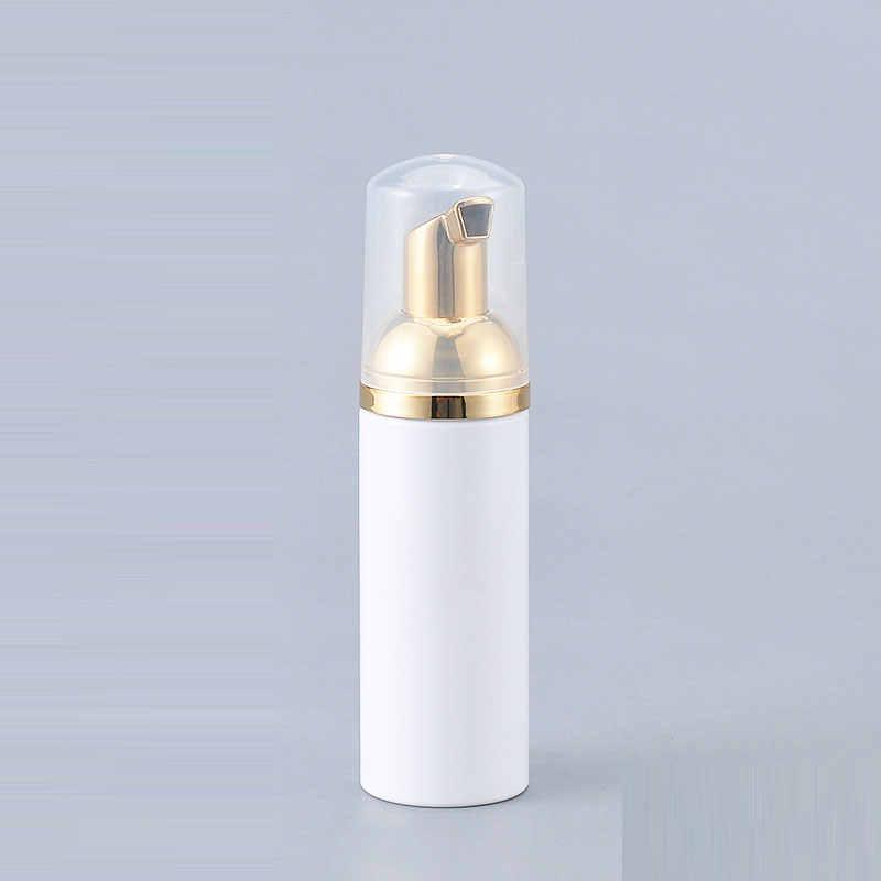 24X30 ml 50ml 80ml biały mydło w płynie butelka piankowa złoty spieniania pompa dozownik pojemnik na płyn do demakijażu do mycia krem DIY do makijażu